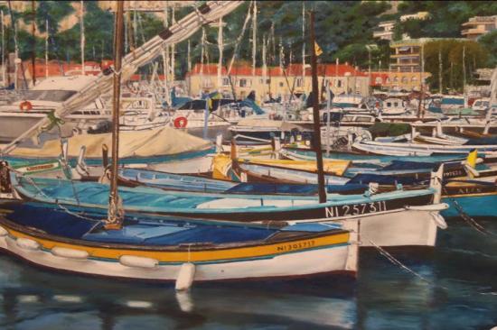 Le port de darse villefranche non disponible 92x60 prix - Port de la darse villefranche sur mer ...